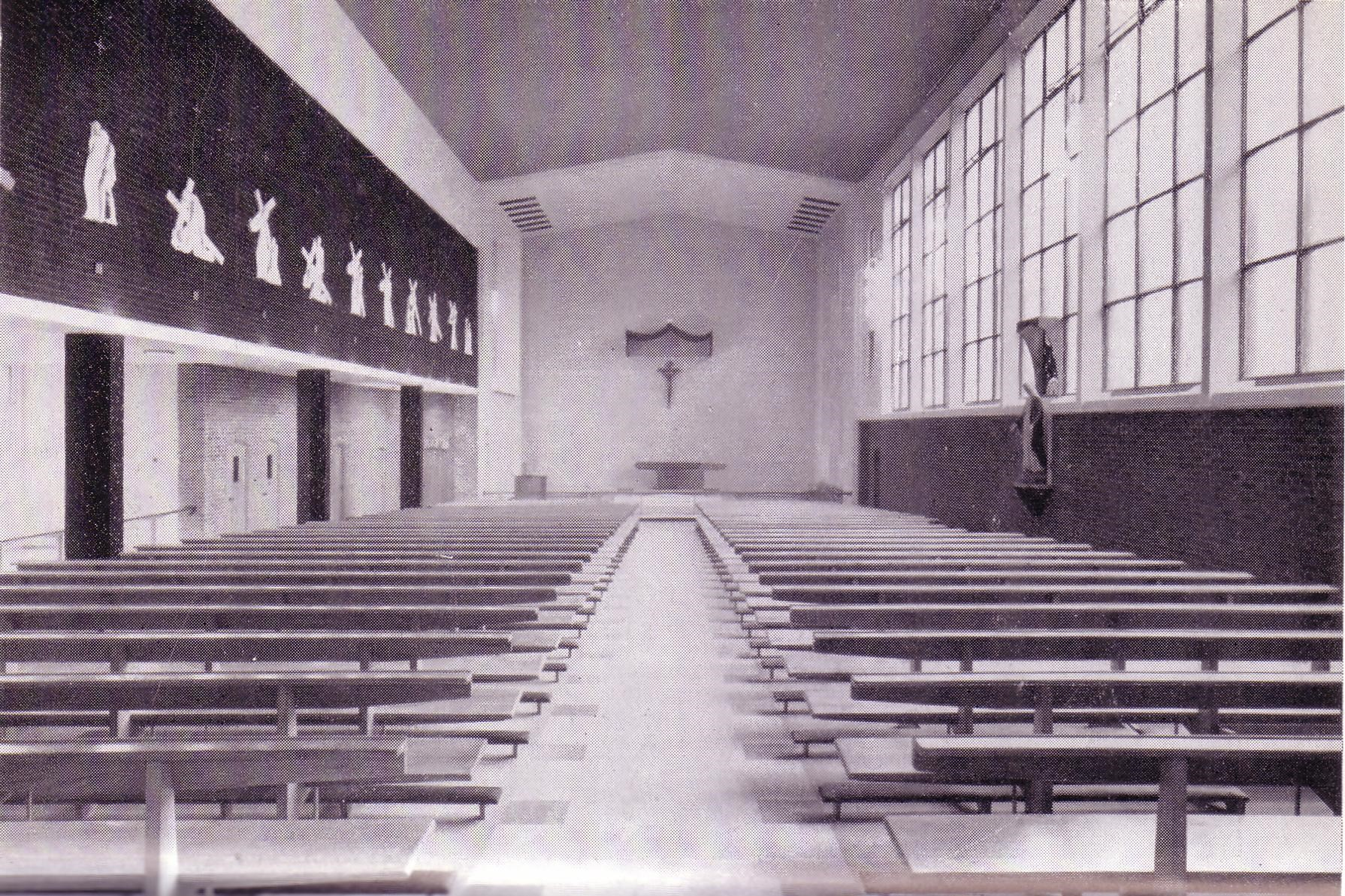 New church interior